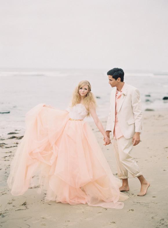 15 Sweet Peach & Blush Wedding Dresses  Deer Pearl Flowers