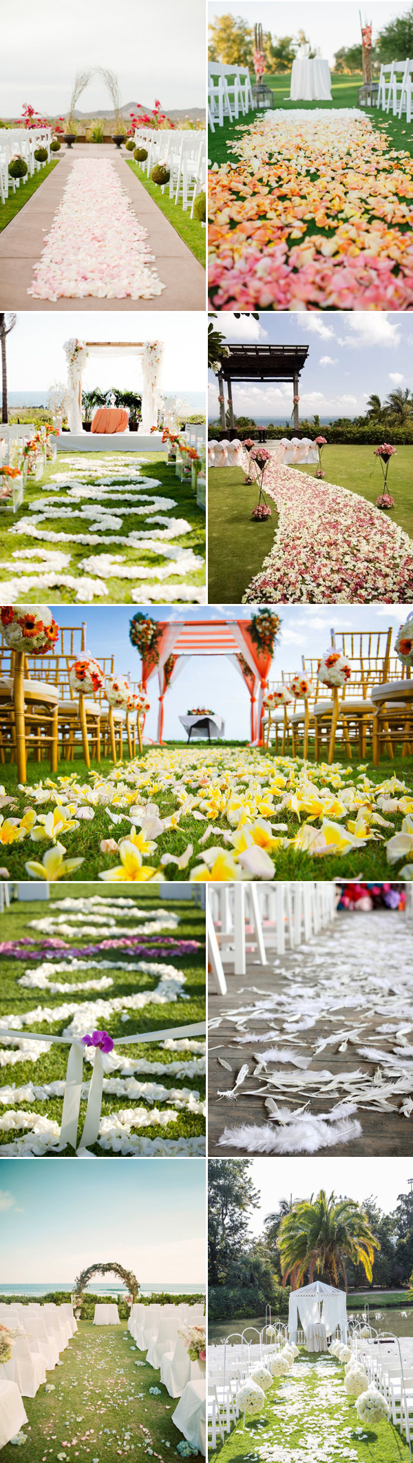 Outdoor Wedding Aisle Runner On Grass : outdoor, wedding, aisle, runner, grass, Wedding, Aisle, Runner, Ideas, Pearl, Flowers