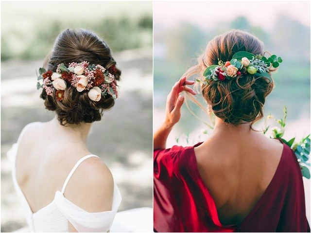 45 Wedding Hairstyles With Flower Crowns Perfect For Your