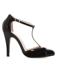 black macey heels