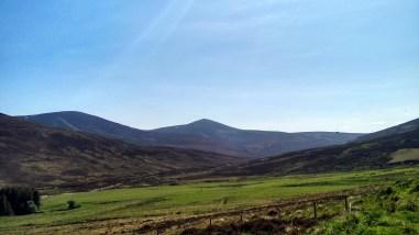 Mount Keen from Glen Tanar