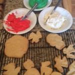 Kids Making Xmas Cookies
