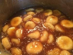 Caramel Sauce w/Bananas