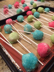 Coating the Cake Pops