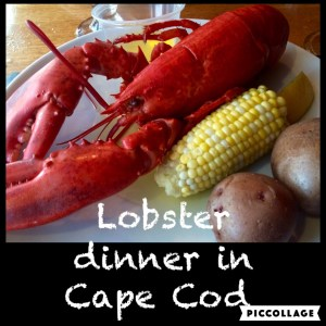 Lobster Dinner, Cape Cod