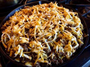 Tamale Pie-Ready to back into Oven!