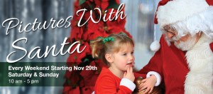 Pictures with Santa @ Dees' Nursery