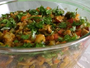 Mixed vegetables/Gadd ki sabzi