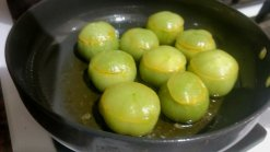 paneer stuffed green tomatoes