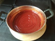 Homemade Tomato Sauce/Ketchup is ready