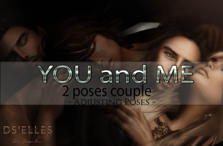 Affiche DS'ELLES poses couple You and Me