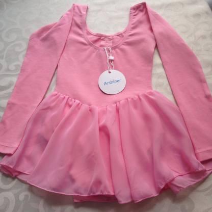 Arshiner Pink Ballet Leotard