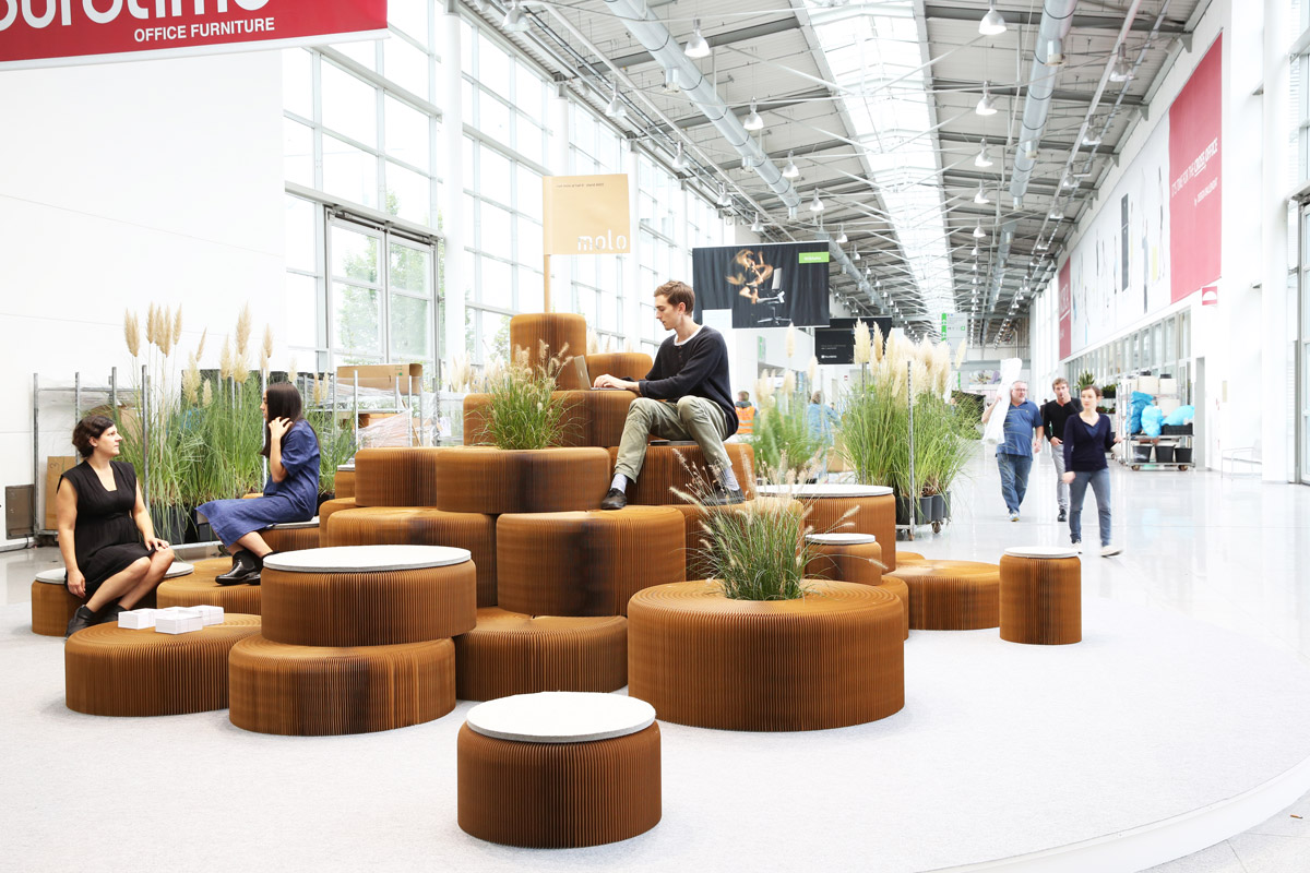 public seating chairs tables and rental price molo softwall  how creative can paper be
