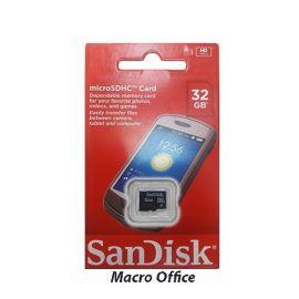 SanDisk 32GB Class 4 MicroSD card