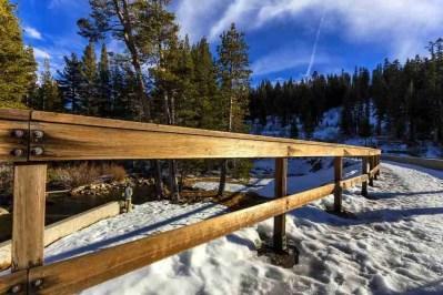 Print of Fence and Trees at Dusk at Echo Lake Photo