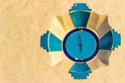 Print of Lifeguard Tower Clock at Laguna Beach Photo