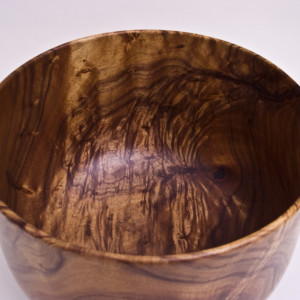 Hawaiian Koa Calabash by Timothy Allan Shafto- inside