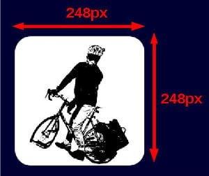 今回用意した推奨サイズ248pxの画像