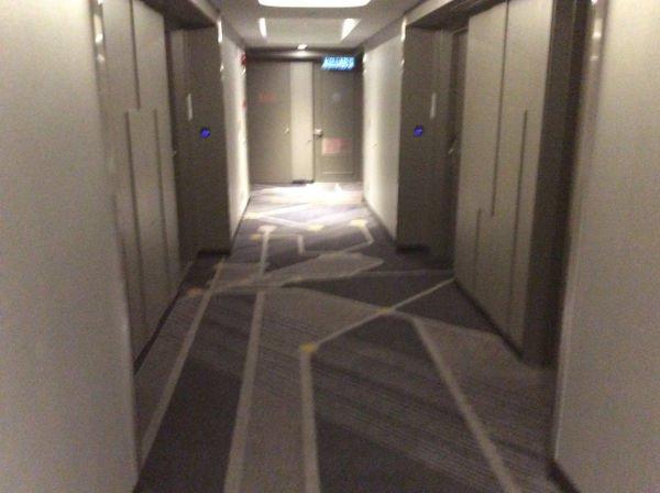 廊下が明るい感じになった