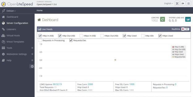 WebAdmin画面