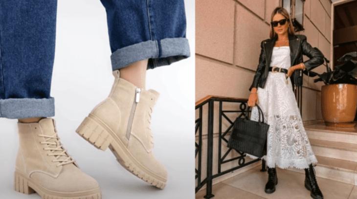 модные ботинки 2021