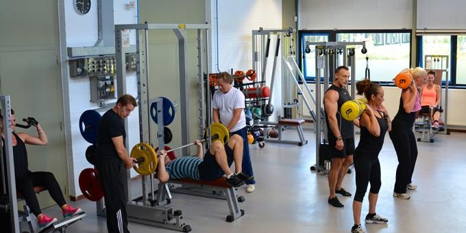Fitnessruimte  De Fabriek Leeuwarden