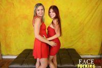 Face Fucking Zara Ryan and Annabel Harvey