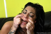 Facial Abuse Audrianna Angel