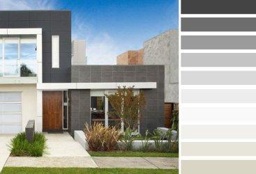 Fachadas de casas color gris Fachadas de Casas Fotos de Casas