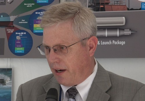US Navy's Boucher on Boosting Railgun Firing Rates, Bore Life