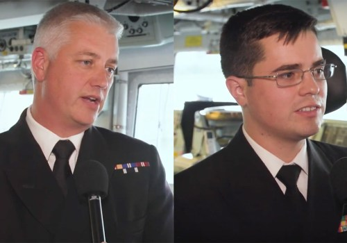 Royal Navy's Shaughnessy, US Navy's Ziemba on American Presence on HMS Argyll