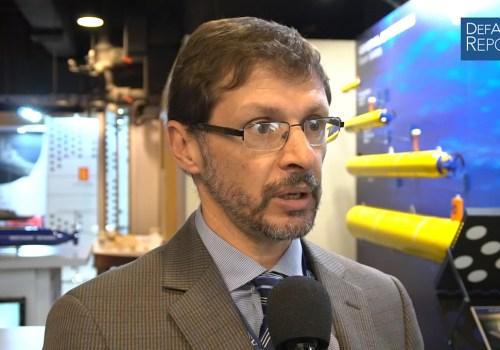 GD Mission Systems' Zaffanella on Bluefin Robotics UUV/AUV Family, Knifefish UUV