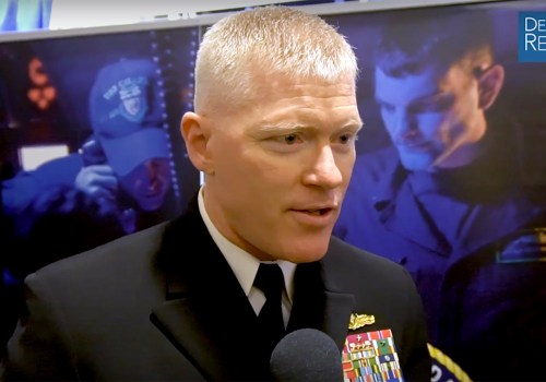US Navy's Wade on Naval Surface and Mine Warfighting Development Center's Mission, Work