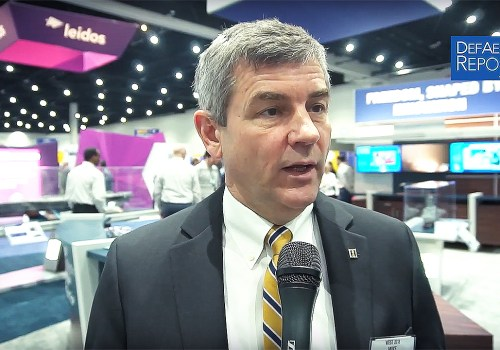 Huntington Ingalls' Petters on Driving Shipbuilding Speed, Innovation, Affordability