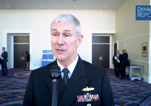 NAVSEA's Moore on Potential 2-Ship Ford-Class Aircraft Carrier Buy, Ship-Repair Backlog