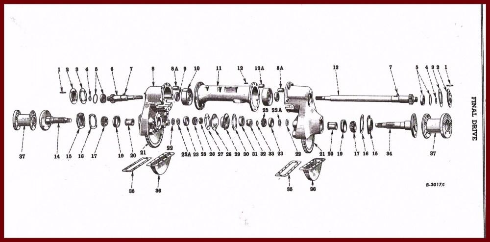 medium resolution of farmall super a rear axle diagram wiring diagram list farmall super a final drive diagram wiring