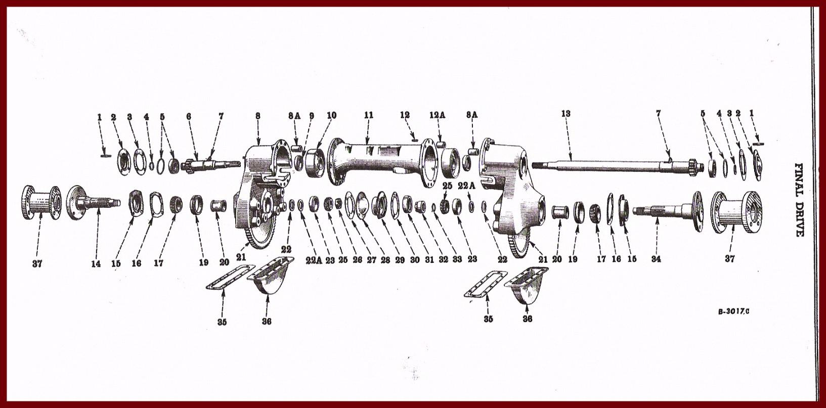hight resolution of farmall super a rear axle diagram wiring diagram list farmall super a final drive diagram wiring