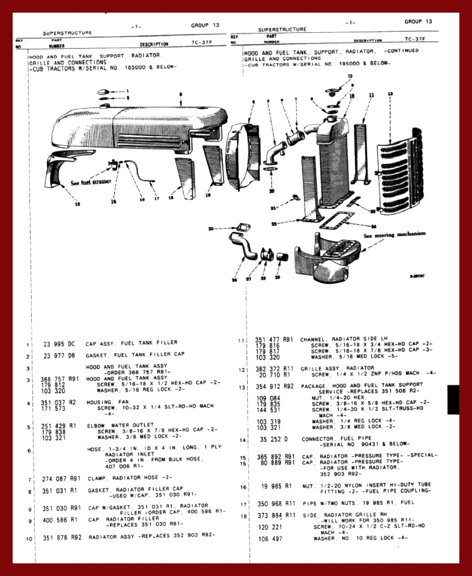 460 Long Tractor Hydraulic Filter : Long tractor wiring diagram omc diagrams