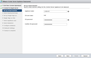 External Platform Services Controller Setup 02