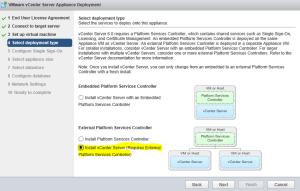 External Platform Services Controller Setup 07