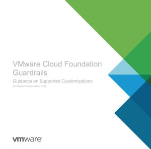 VCF Guardrails