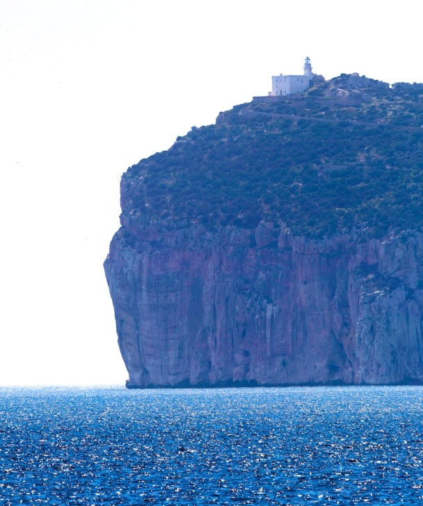 Capo Caccia depuis Punta Giglio, Sardaigne, Sardinia, Sardegna