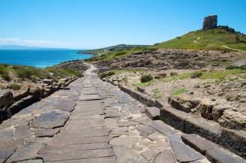 Ruines, Tharros, Sardaigne