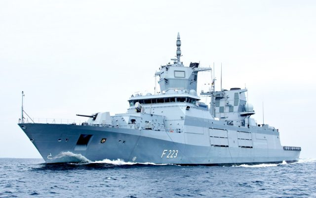 Germany takes delivery of second F125 frigate Nordrhein-Westfalen - Defense Brief