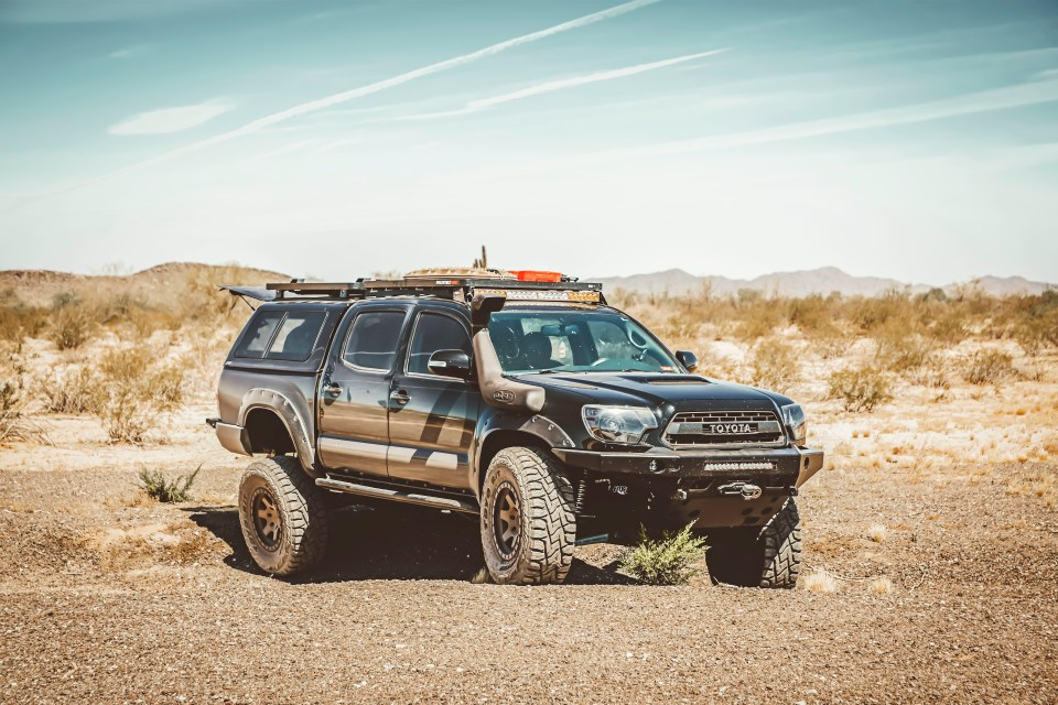 Toyota Tacoma Overland AdventureMobile