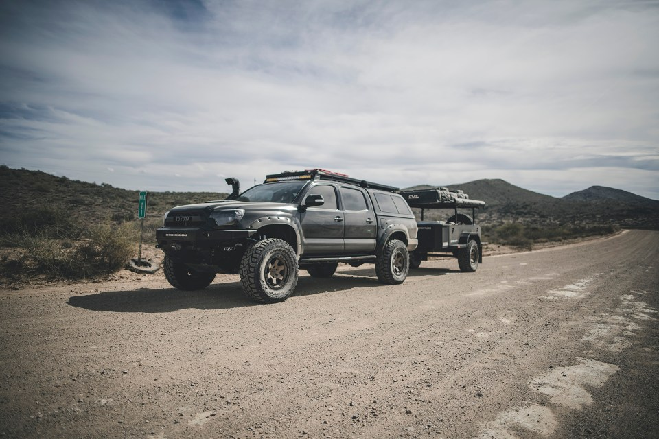Rotiform SIX-OR defconbrix on some adventure toyota tacoma xventure
