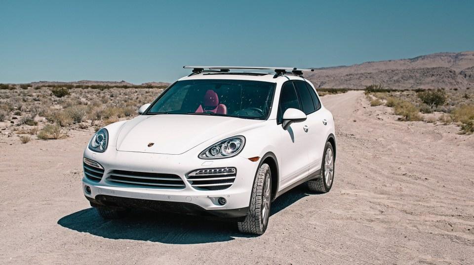 Oregon Road Trip Porsche Cayenne