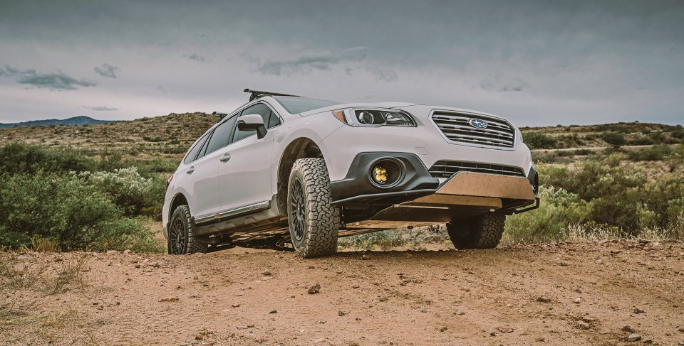 Lifted Subaru Outback Adventure Build