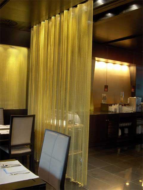 Las cortinas metlicas decorativas de KRISKADECOR