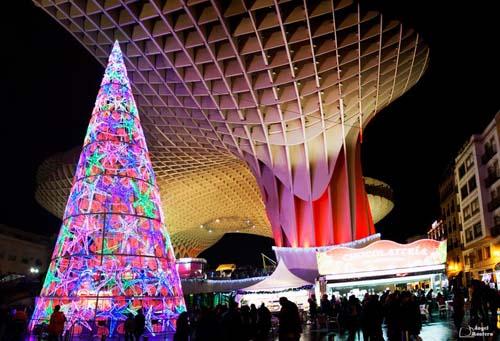 La Navidad llega a las Setas de Sevilla  DolceCitycom